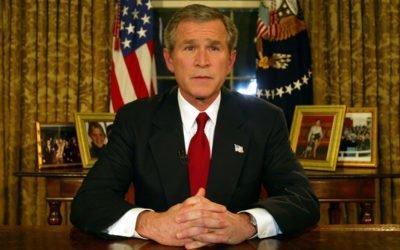 Bush, Je n'ai jamais vu un gouvernement aussi con