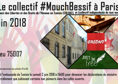 Manifestation Mouchbessif Paris 02-06-2018